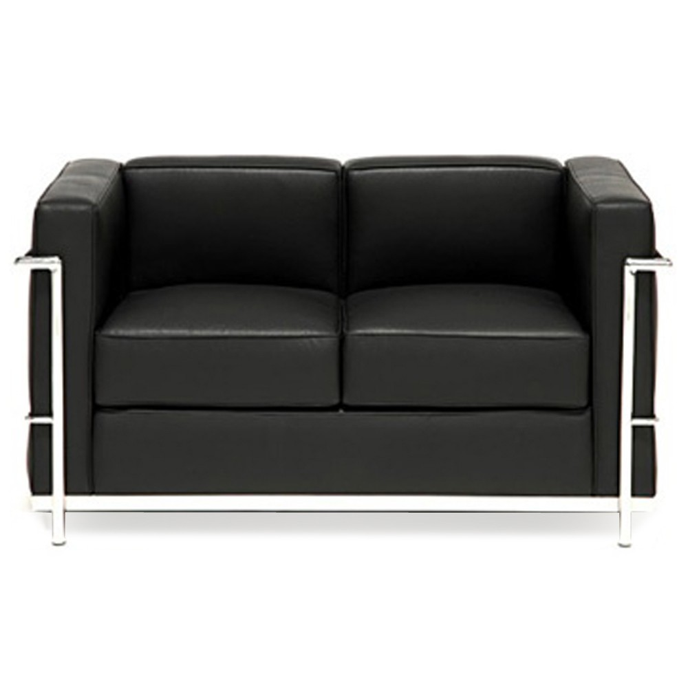 black italian leather black italian leather - Black Leather Loveseat
