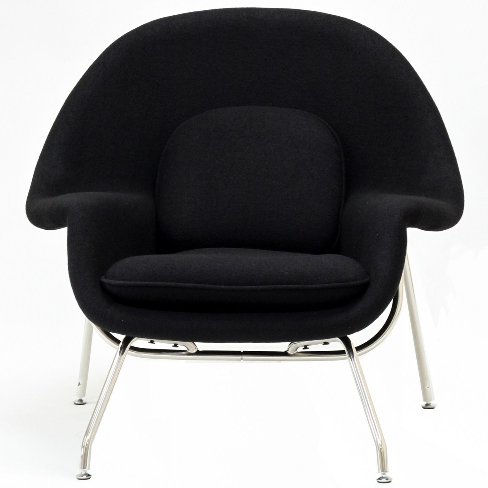 Womb Lounge Chair womb chair and ottoman- premium cashmere wool | artis décor