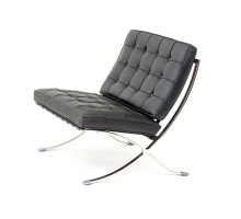Premium Lounge Chair - Premium Top Grain Leather