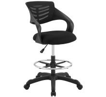 Thrive Mesh Drafting Chair Black
