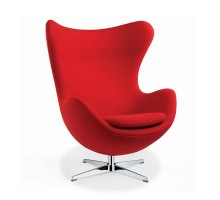 Egg Chair - Premium Cashmere Wool