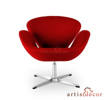 Swan Chair - Premium Cashmere Wool