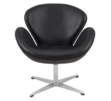 Swan Chair - Premium Italian Top Grain Leather