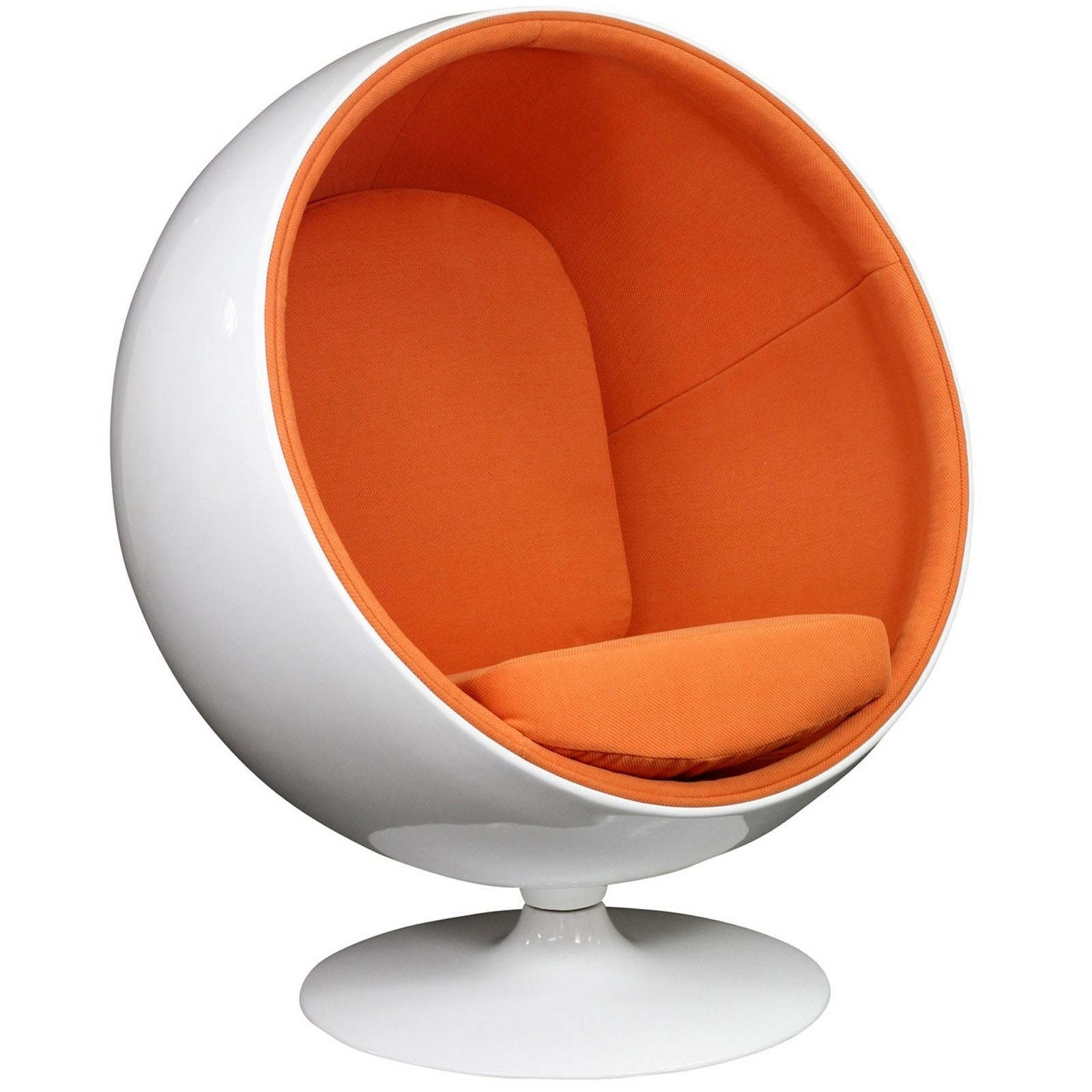 Kaddur Lounge Chair - Orange