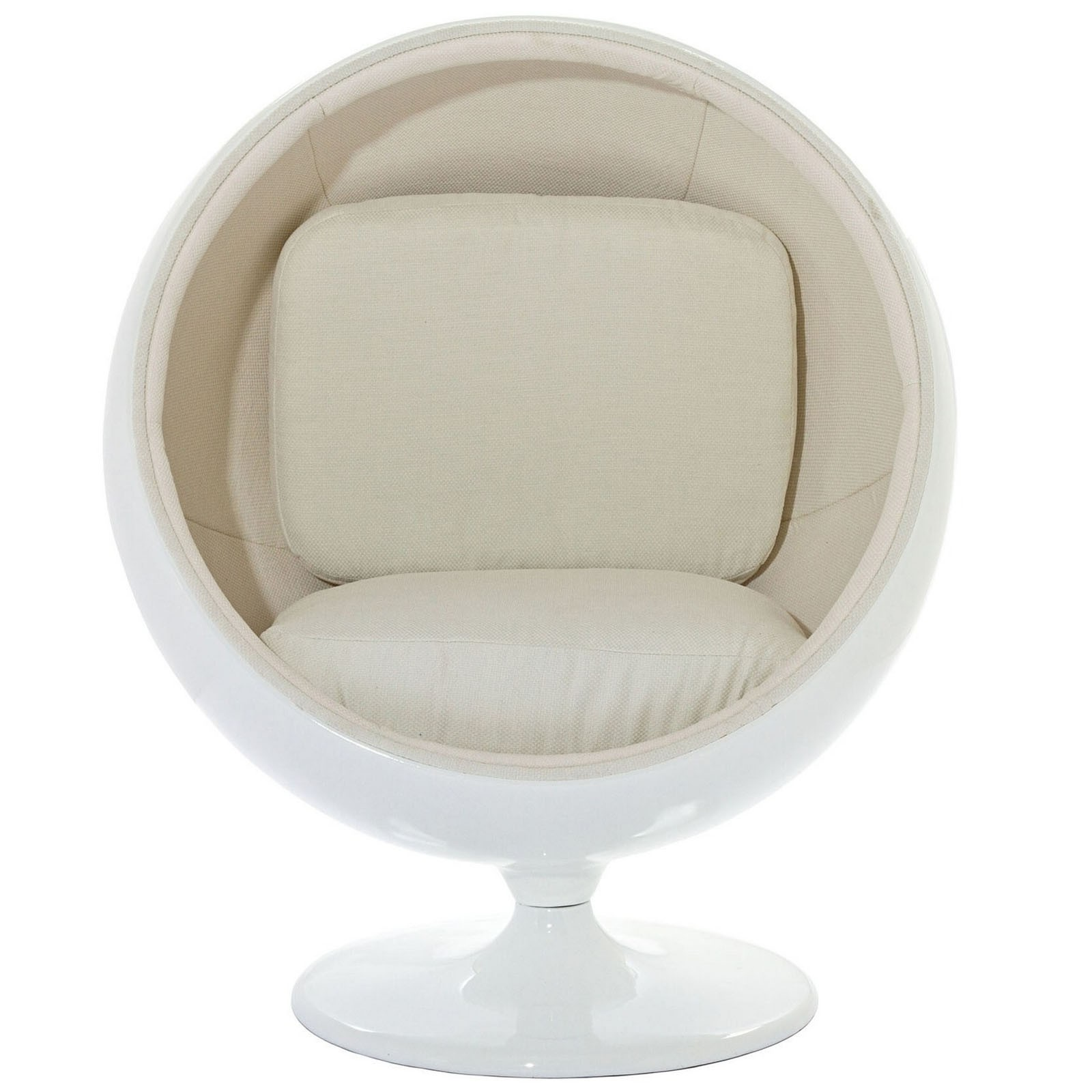 Kaddur Lounge Chair - White