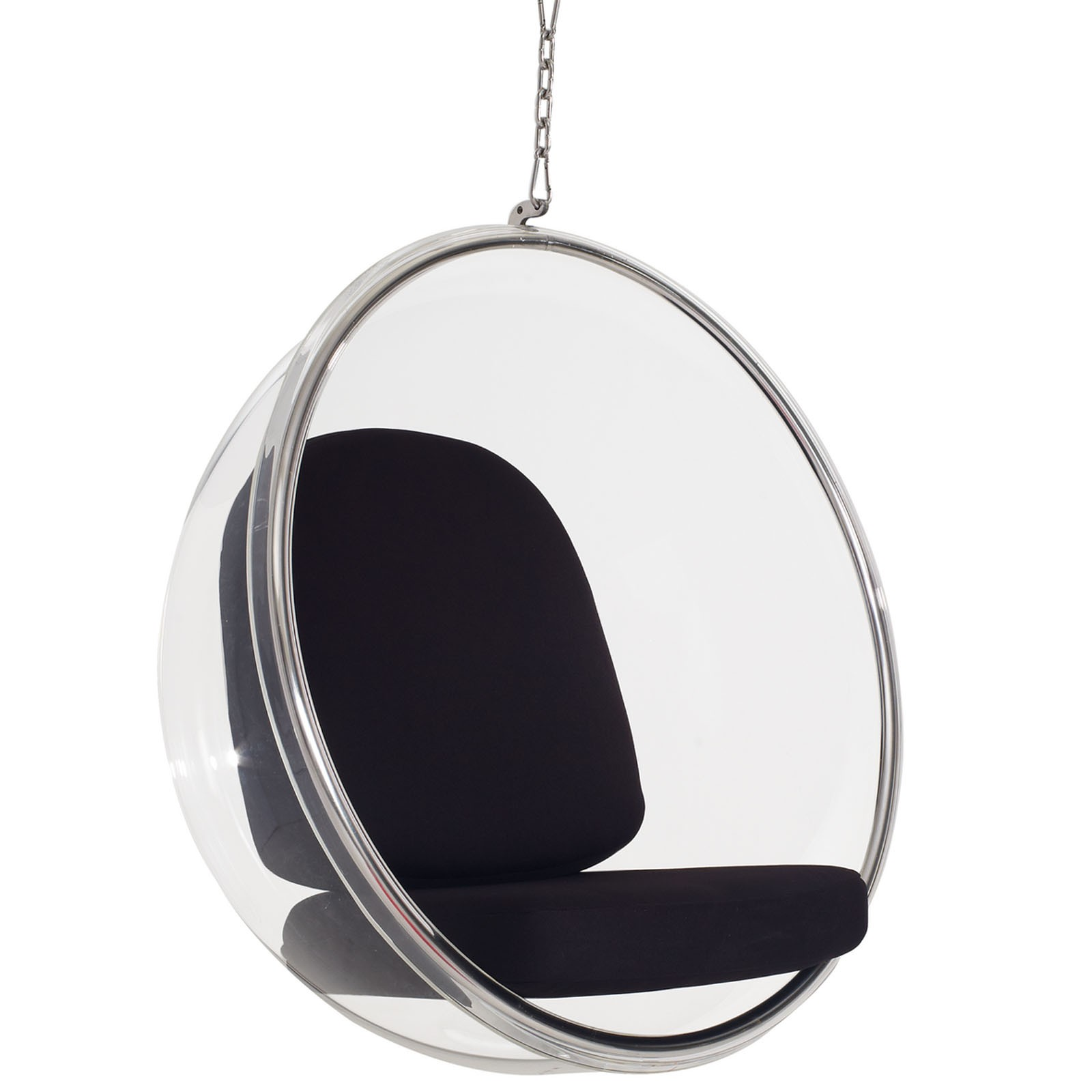 Ring Lounge Chair - Black