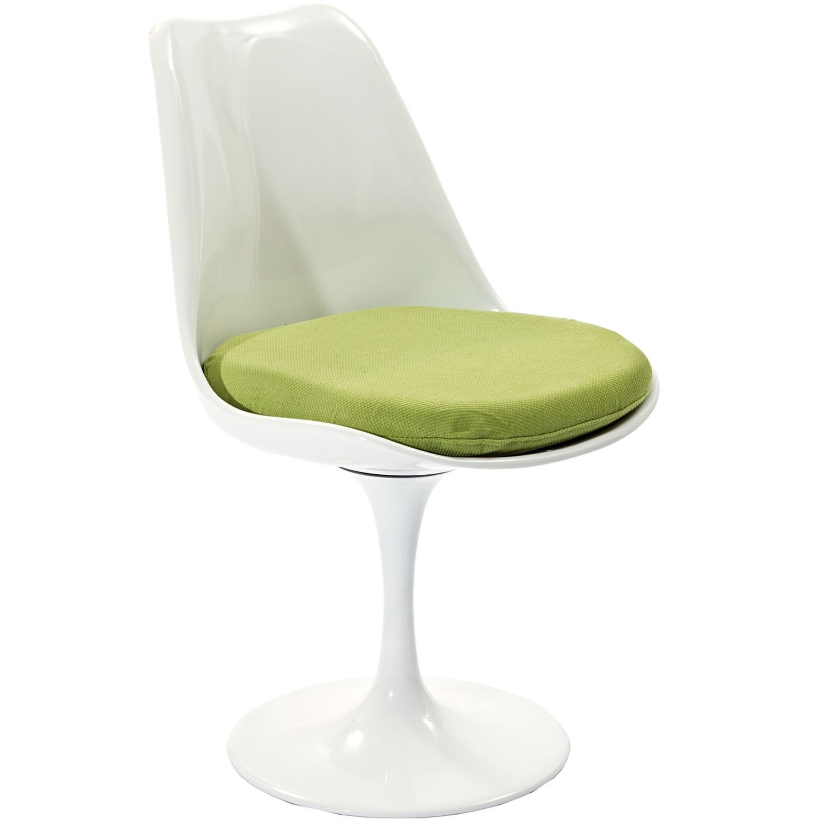 Lippa Dining Fabric Side Chair - Green