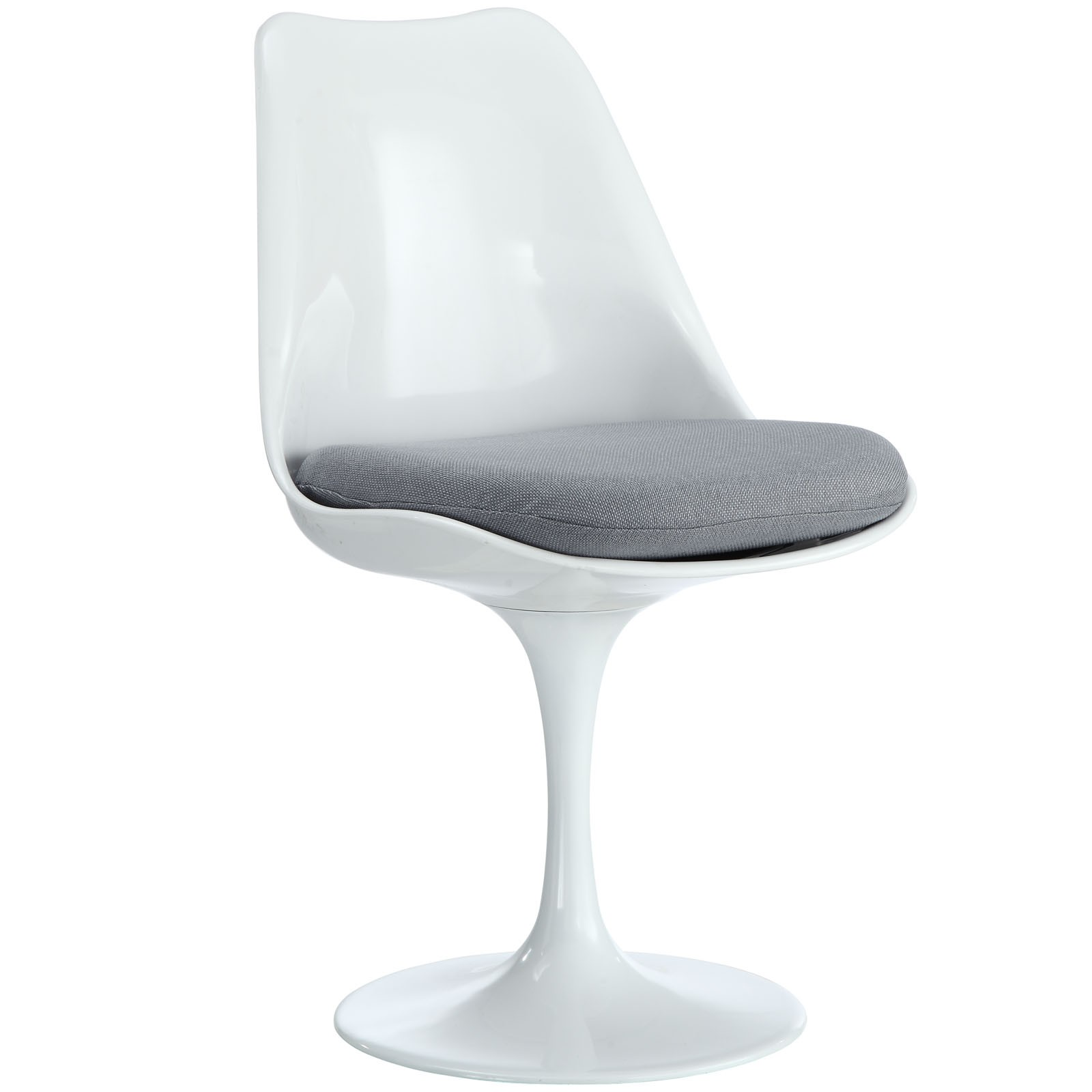 Lippa Dining Fabric Side Chair - Gray