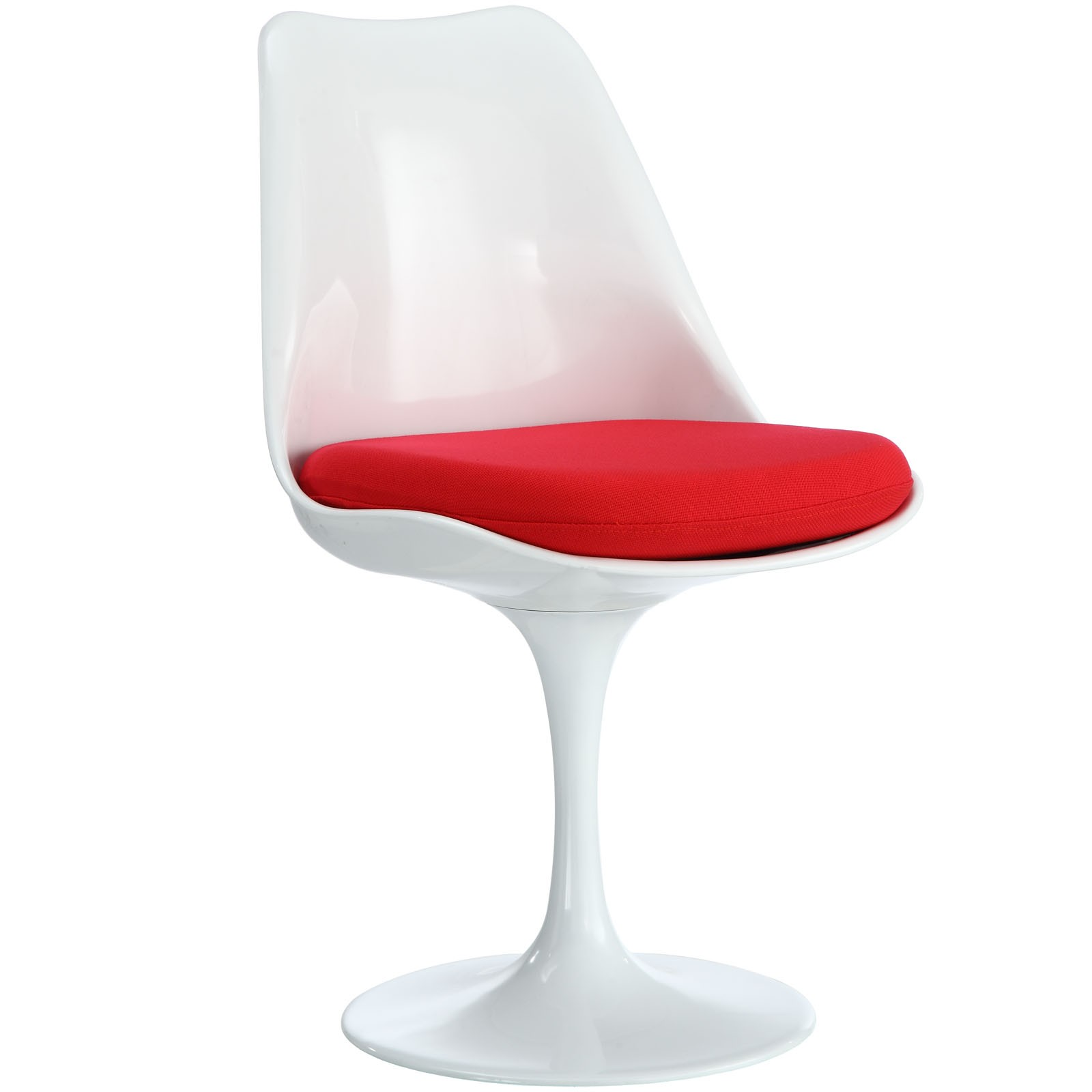 Lippa Dining Fabric Side Chair - Red