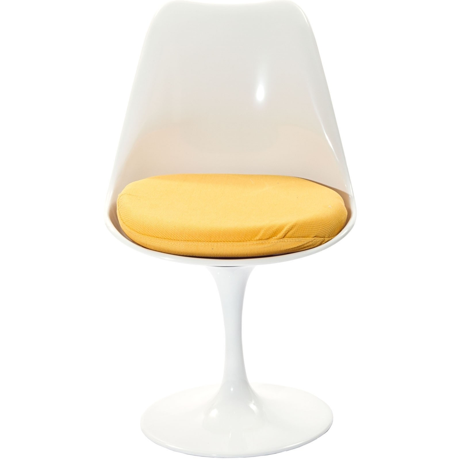 Lippa Dining Fabric Side Chair - Yellow